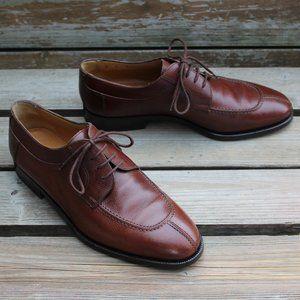 Bally 'Carillo' Norwegian Toe in Pebbled Brown EUC